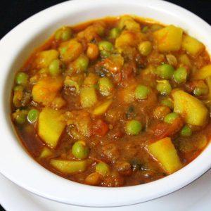 Aloo Mutter (Peas & Potato)