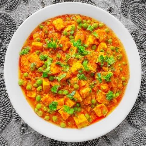 Mutter Paneer (Peas & Cheese)