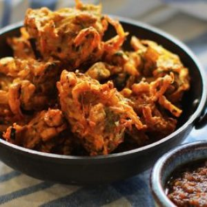 6 Vegetable Pakora